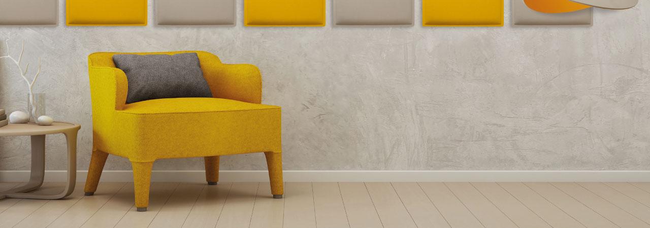 Woopies panneaux acoustiques pour murs et plafonds for Panneaux decoratifs pour murs interieurs