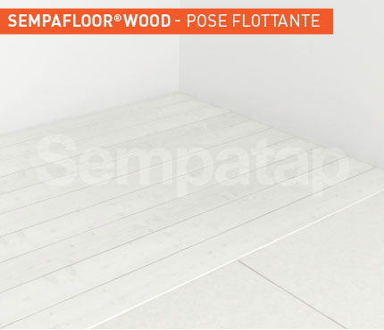 SempaFloor Wood, isolation phonique sous parquet flottant