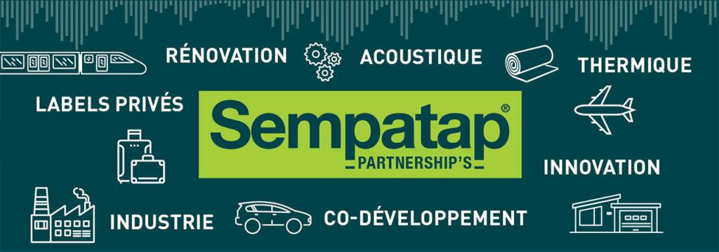 Grâce à son savoir-faire en enduction, Sempatap est le partenaire des industriels.